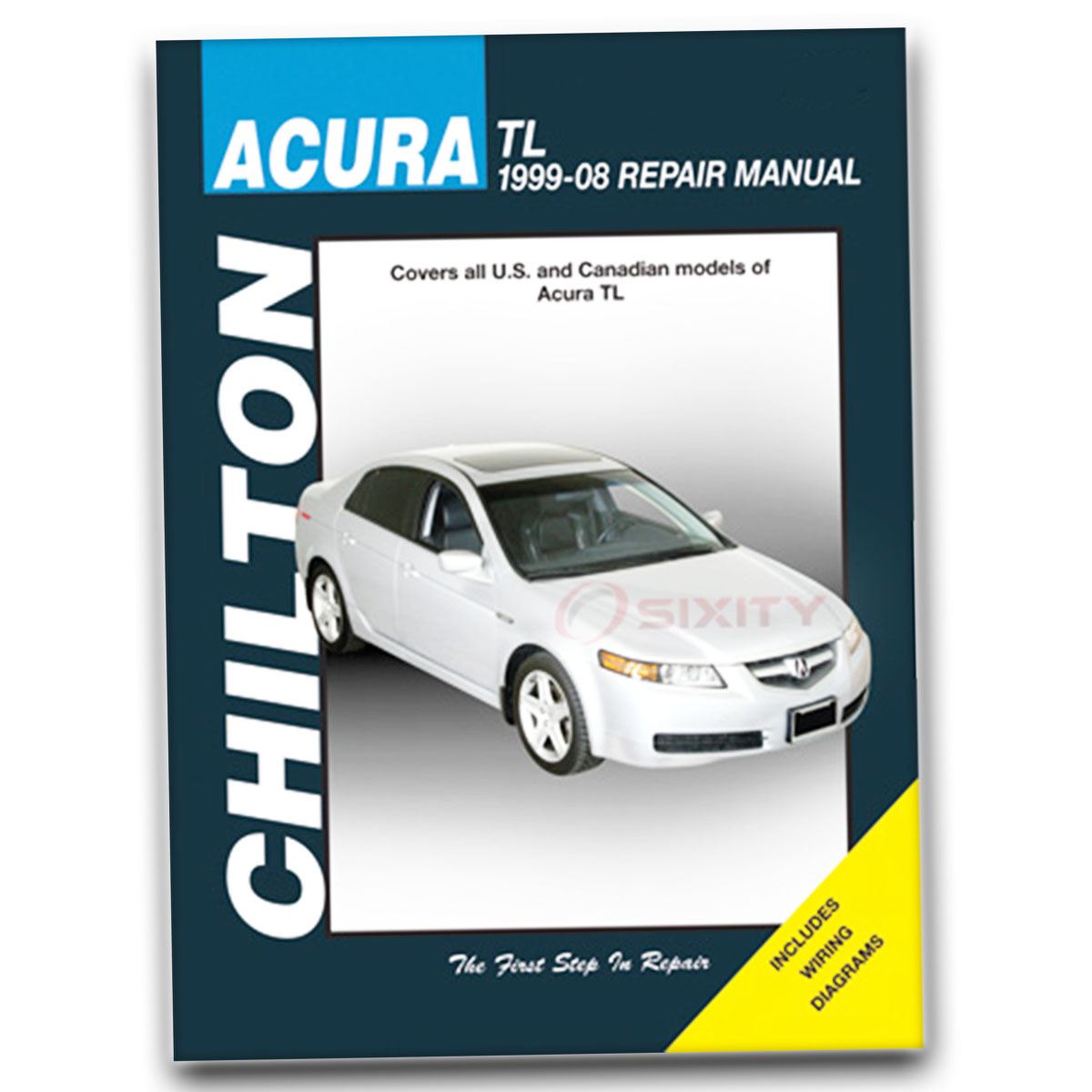 Acura TL Chilton Repair Manual Type-S Base Shop Service