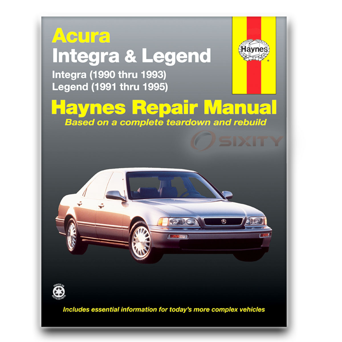 acura legend haynes repair manual l gs ls base se shop service rh ebay com 2017 Acura Legend 2017 Acura Legend