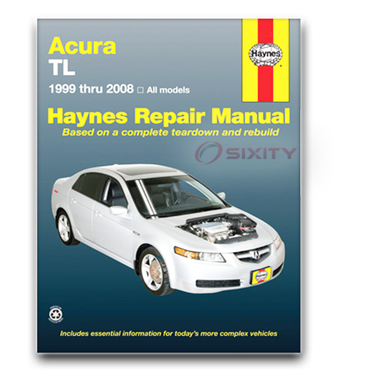Acura TL Haynes Repair Manual Base TypeS Shop Service Garage Book