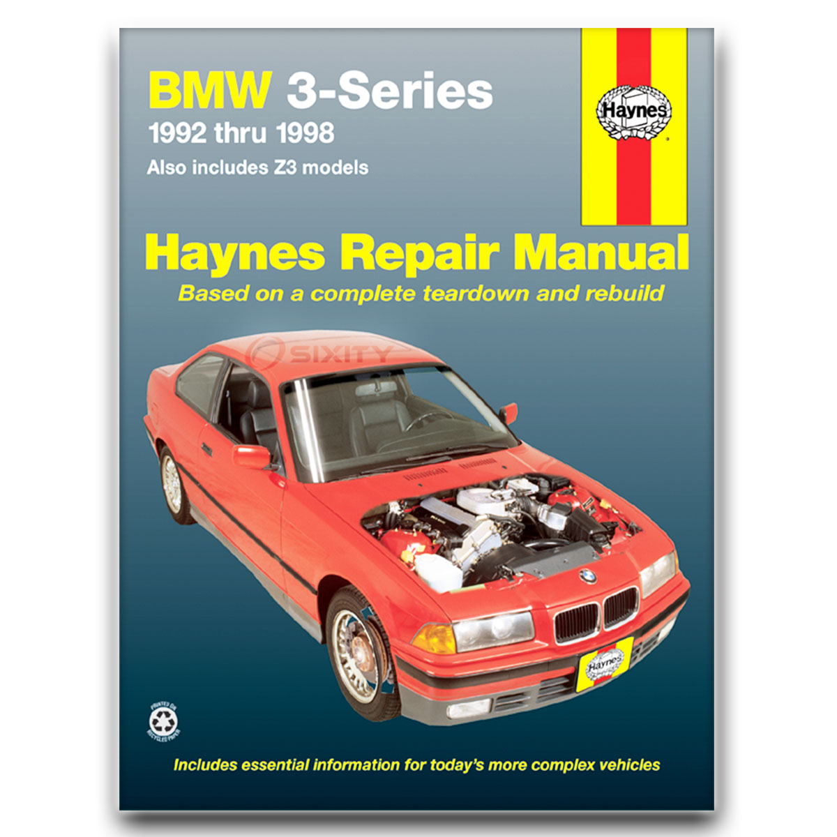 Haynes Repair Manual for BMW 318ti Base Shop Service Garage Book ft