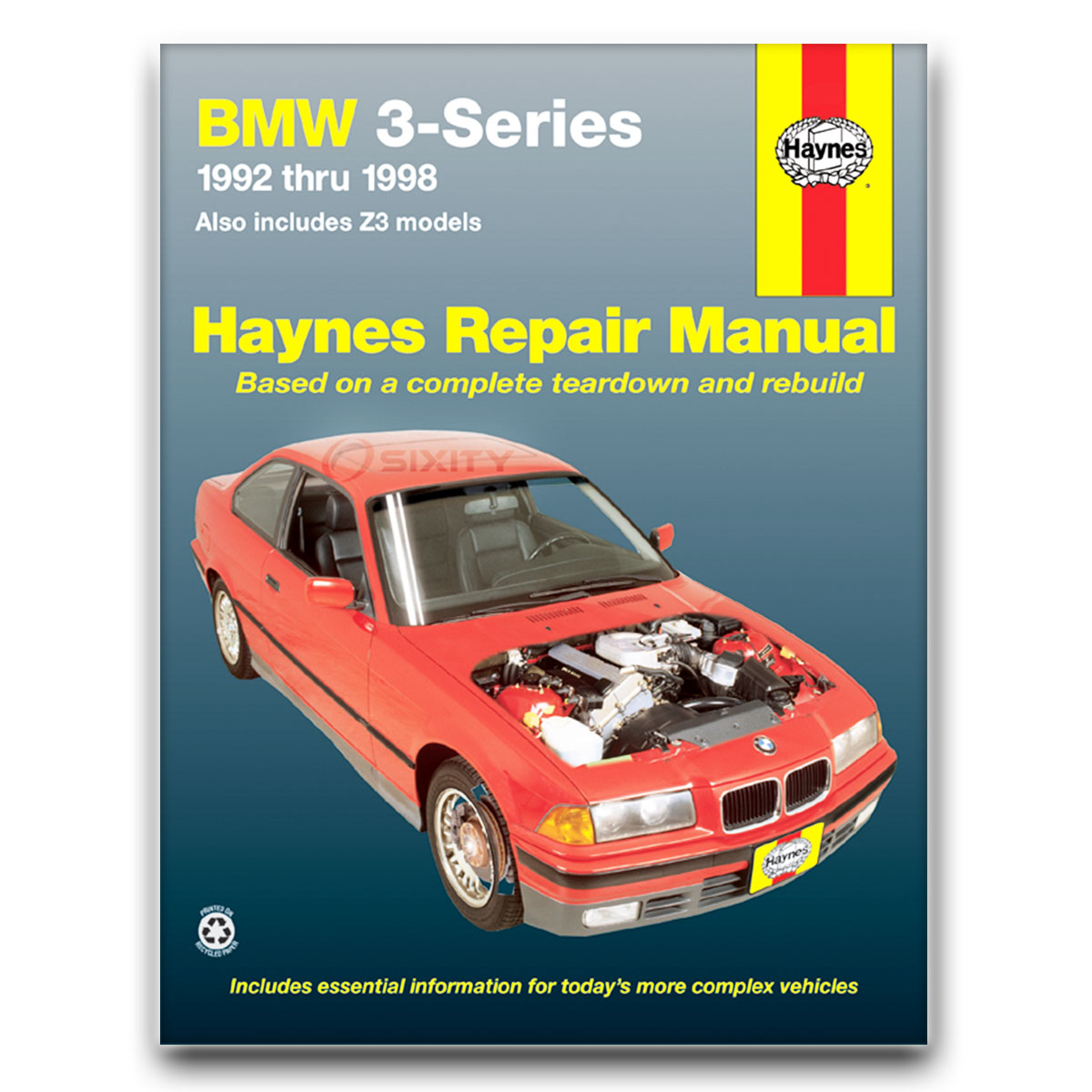 bmw 325i haynes repair manual base shop service garage. Black Bedroom Furniture Sets. Home Design Ideas