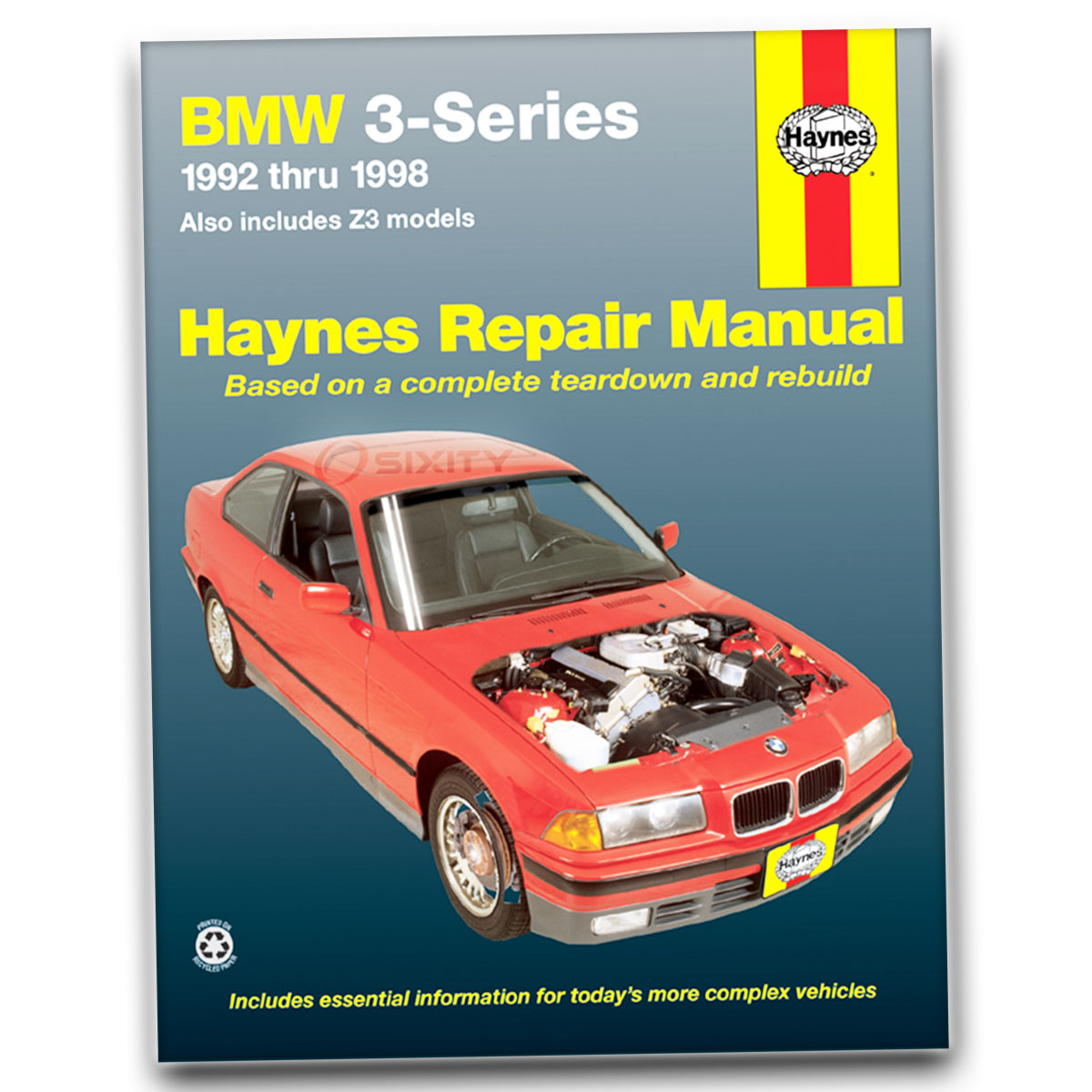 Haynes Repair Manual for BMW Z3 M Roadster Shop Service Garage Book oy