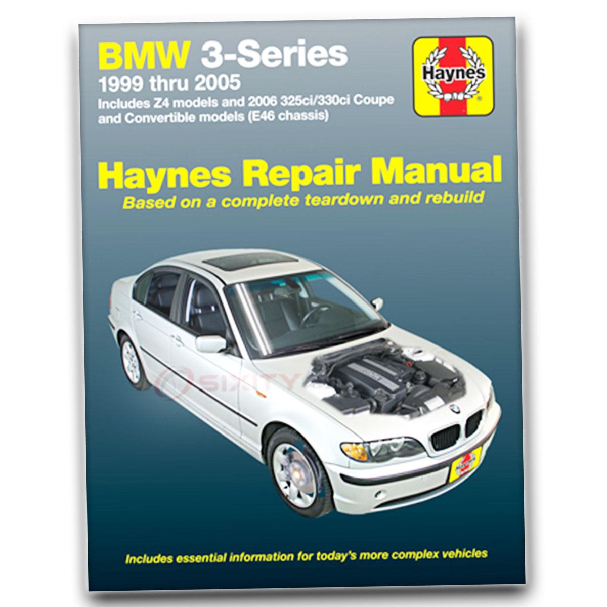 Haynes Repair Manual For 2001-2005 BMW 325i