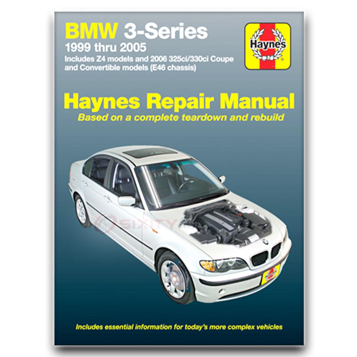 Bmw Xi: BMW 325xi Haynes Repair Manual Base Shop Service Garage