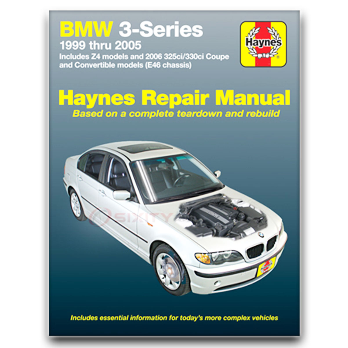 Haynes Repair Manual for BMW 330i Base Shop Service Garage Book xz
