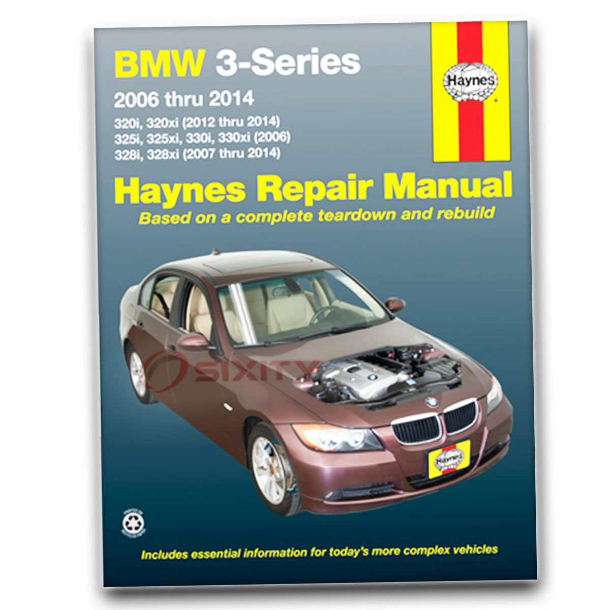 Haynes Repair Manual for BMW 328i Base Shop Service Garage Book nm