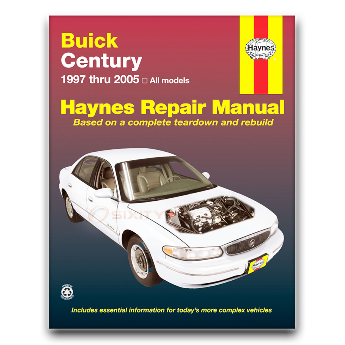Haynes Repair Manual For Buick Century Custom Limited Special 2002 Wiring Schematic Edition Shop Fd