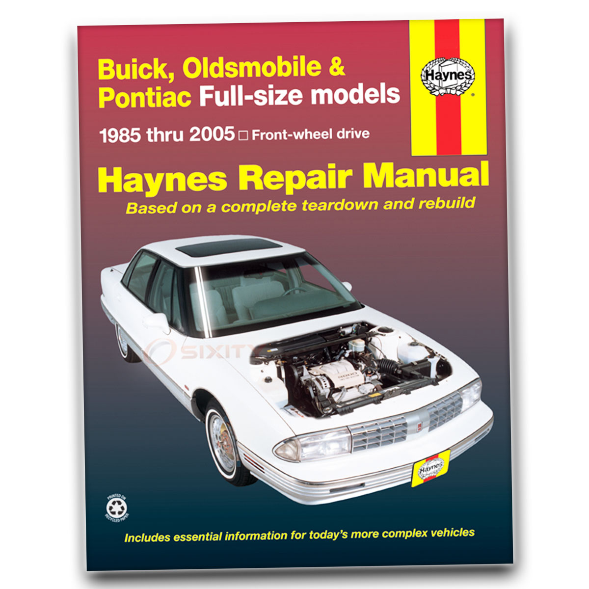 Haynes Repair Manual for Buick LeSabre Base T-Type Limited Custom Estate qr