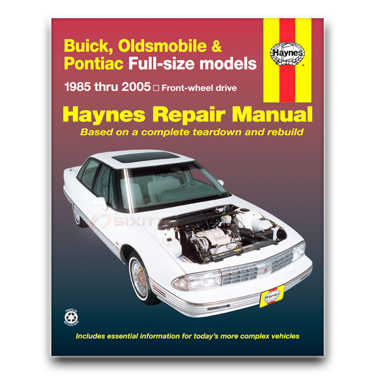 buick park avenue haynes repair manual base ultra shop service rh ebay com 1991 Buick Park Avenue Fuse Box Diagram 1991 buick park avenue service manual