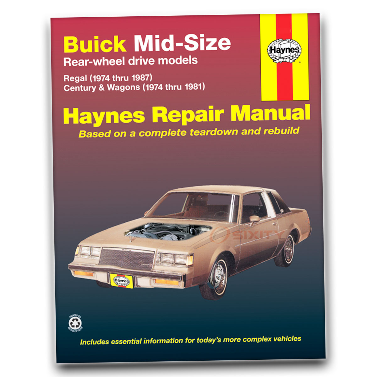 SX159 Repair Book