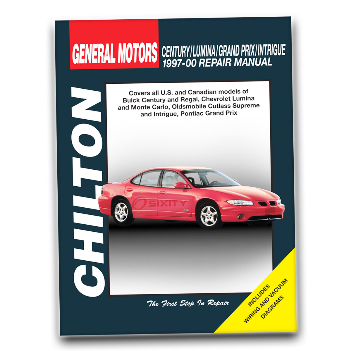 Chilton Repair Manual for Buick Century Custom Limited Shop Service Garage  ny