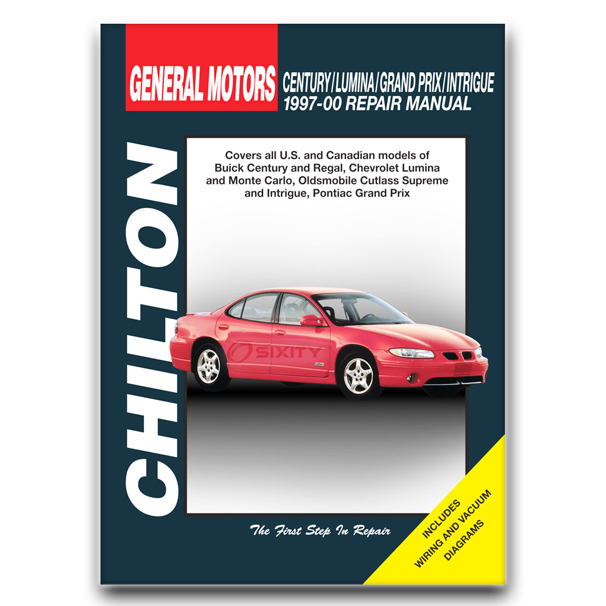 Chilton Repair Manual for Buick Regal LS 25th Anniversary Edition GS GSE  LSE be