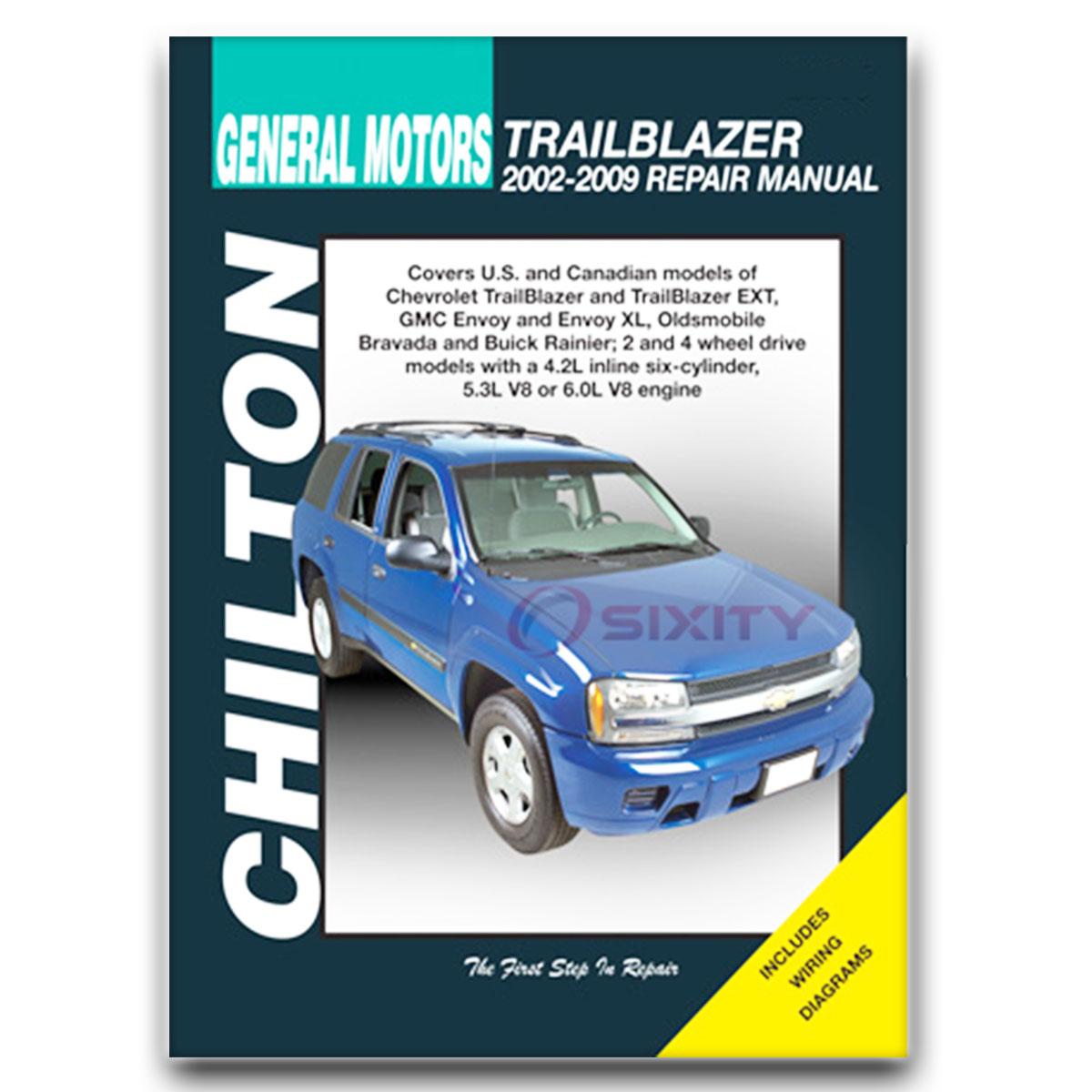 Buick Rainier Chilton Repair Manual Cxl Plus Shop Service border=