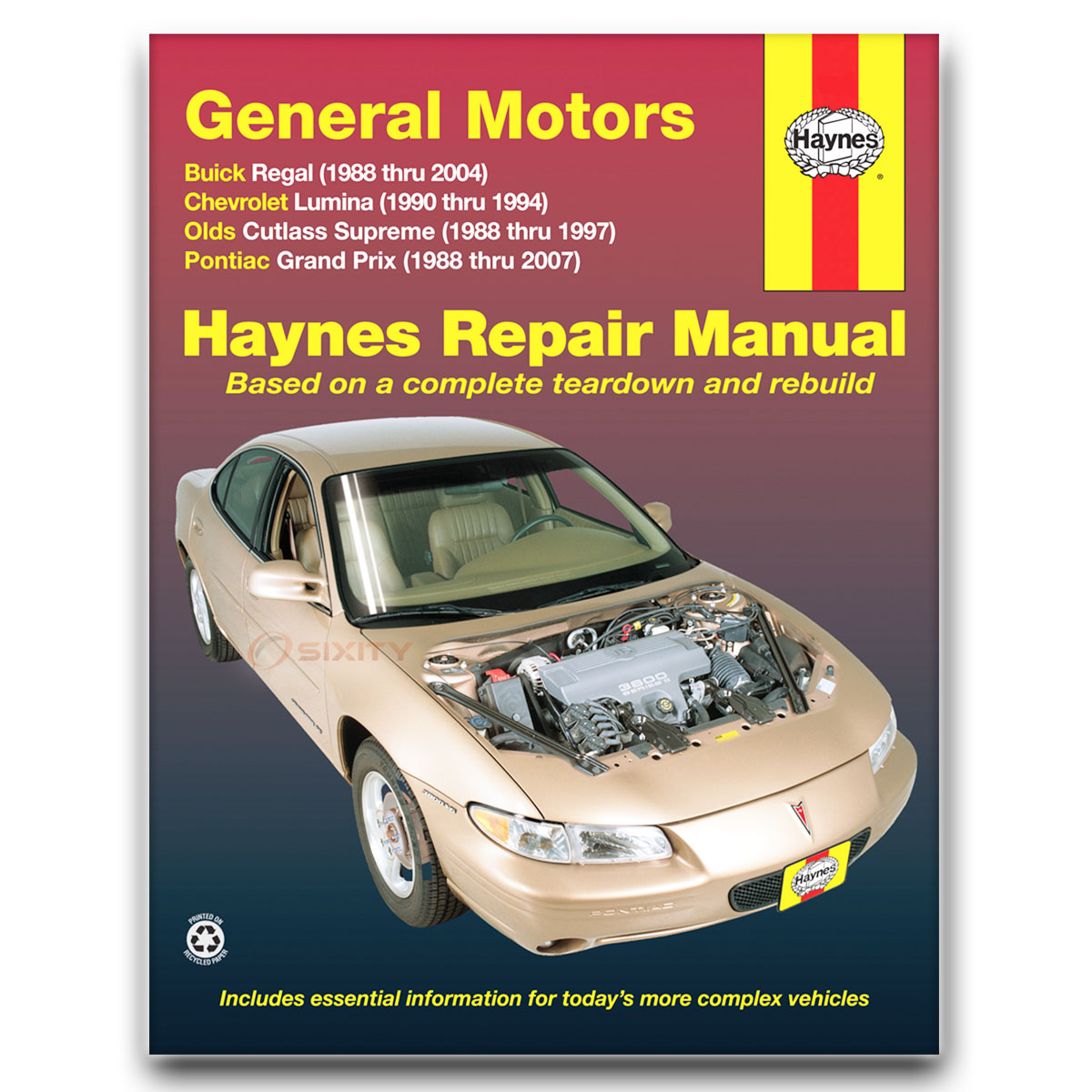 buick regal haynes repair manual lse base limited 25th anniversary rh ebay com 1981 Buick Regal Donk 1998 Buick Regal GS Supercharged