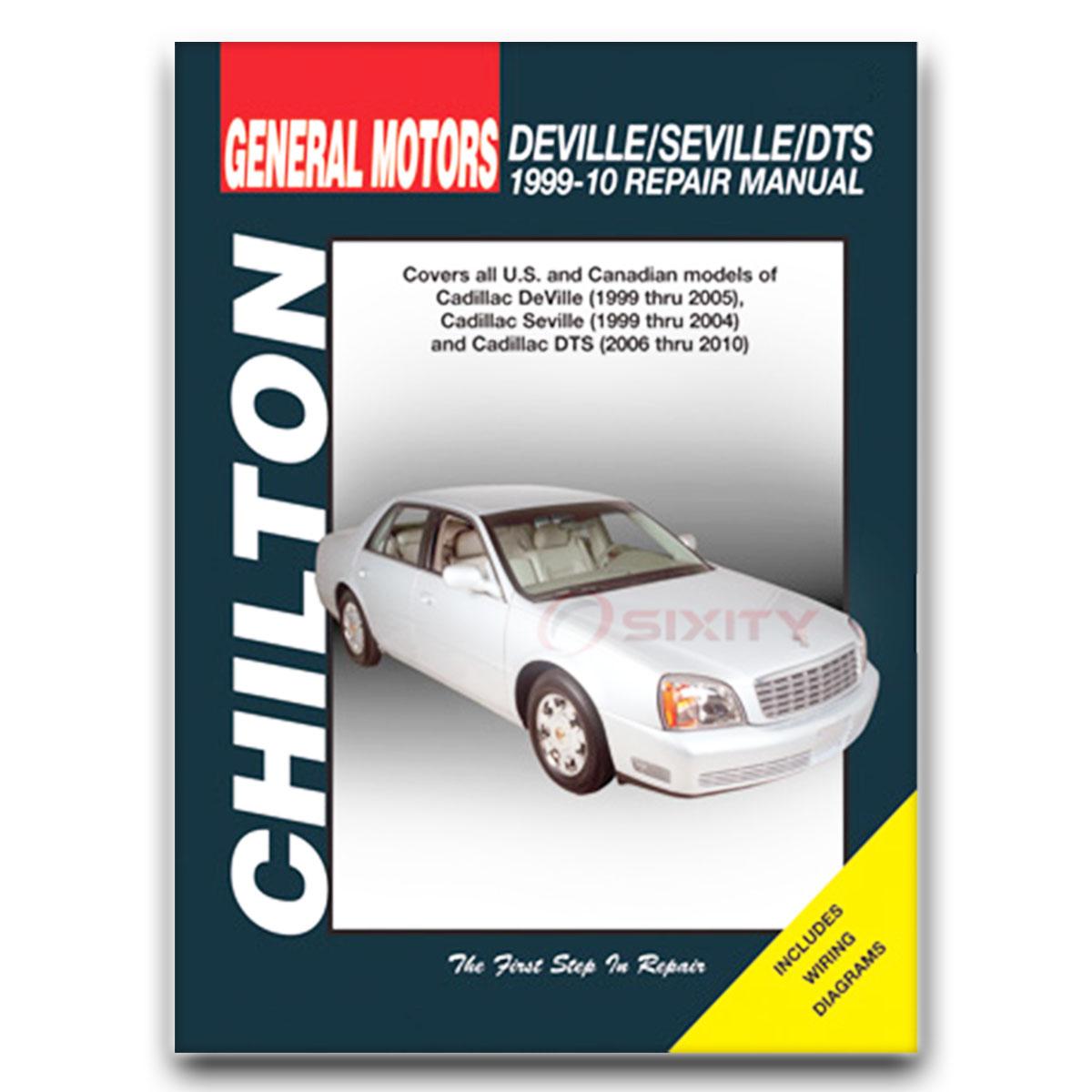 cadillac dts chilton repair manual platinum base l shop service rh ebay com 2006 Cadillac DTS Cadillac CTS