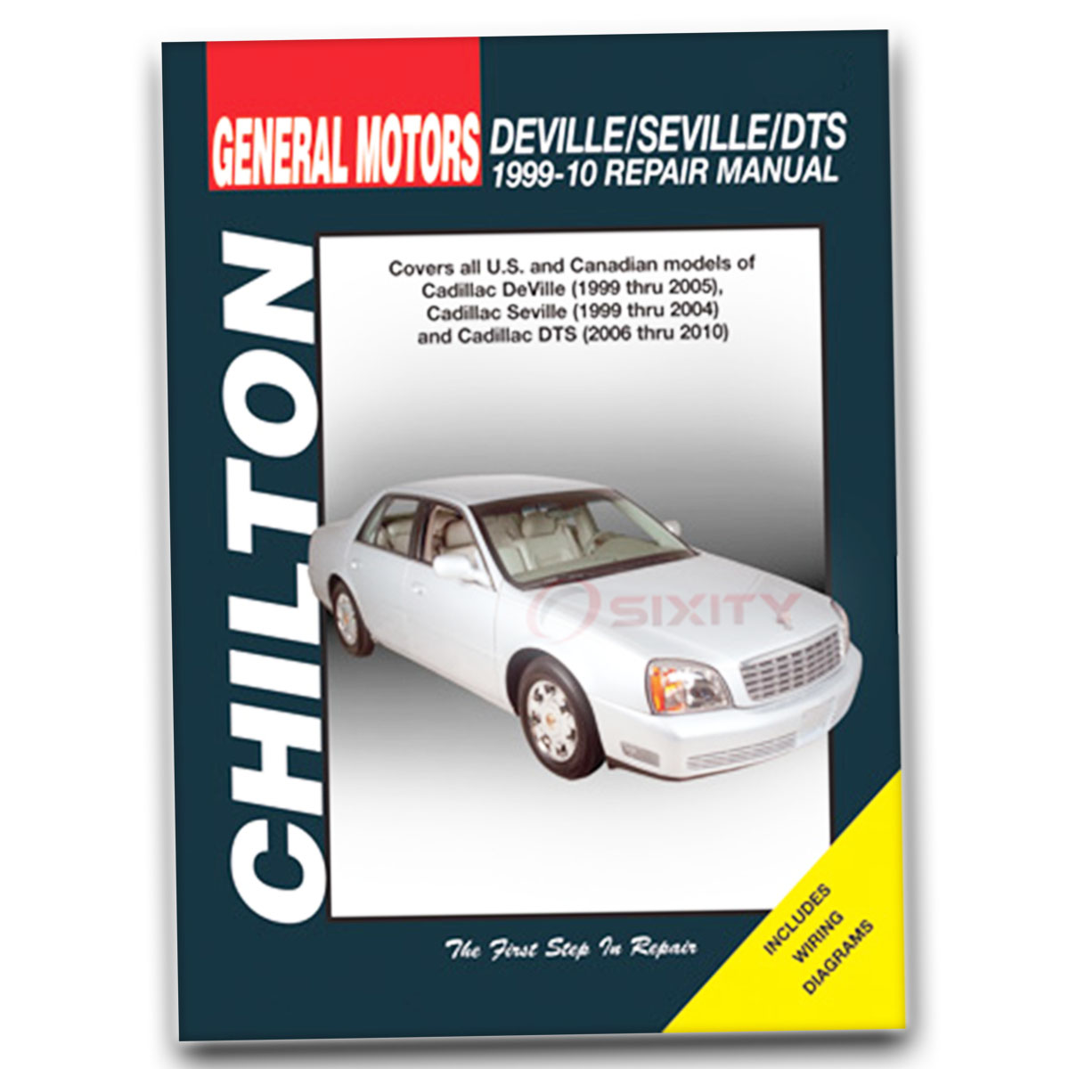 cadillac seville chilton repair manual sts sls shop service garage rh ebay com Cadillac DeVille Cadillac XTS Driving Lights