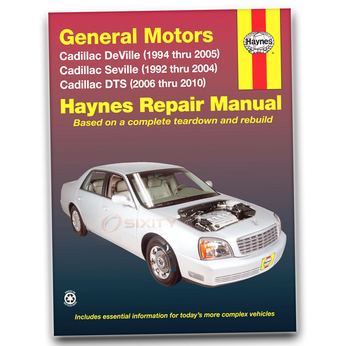 cadillac rear wheel drive models thru haynes repair manuals.
