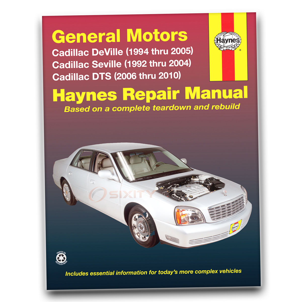 Cadillac seville haynes repair manual sls base sts shop service sx232 repair book fandeluxe Choice Image