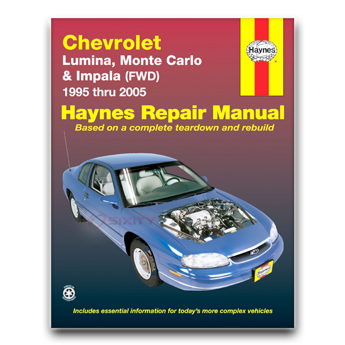 chevy impala haynes repair manual ls sport base ss shop service rh ebay com 2004 chevy impala manual 2004 chevy impala manual-release plunger, key