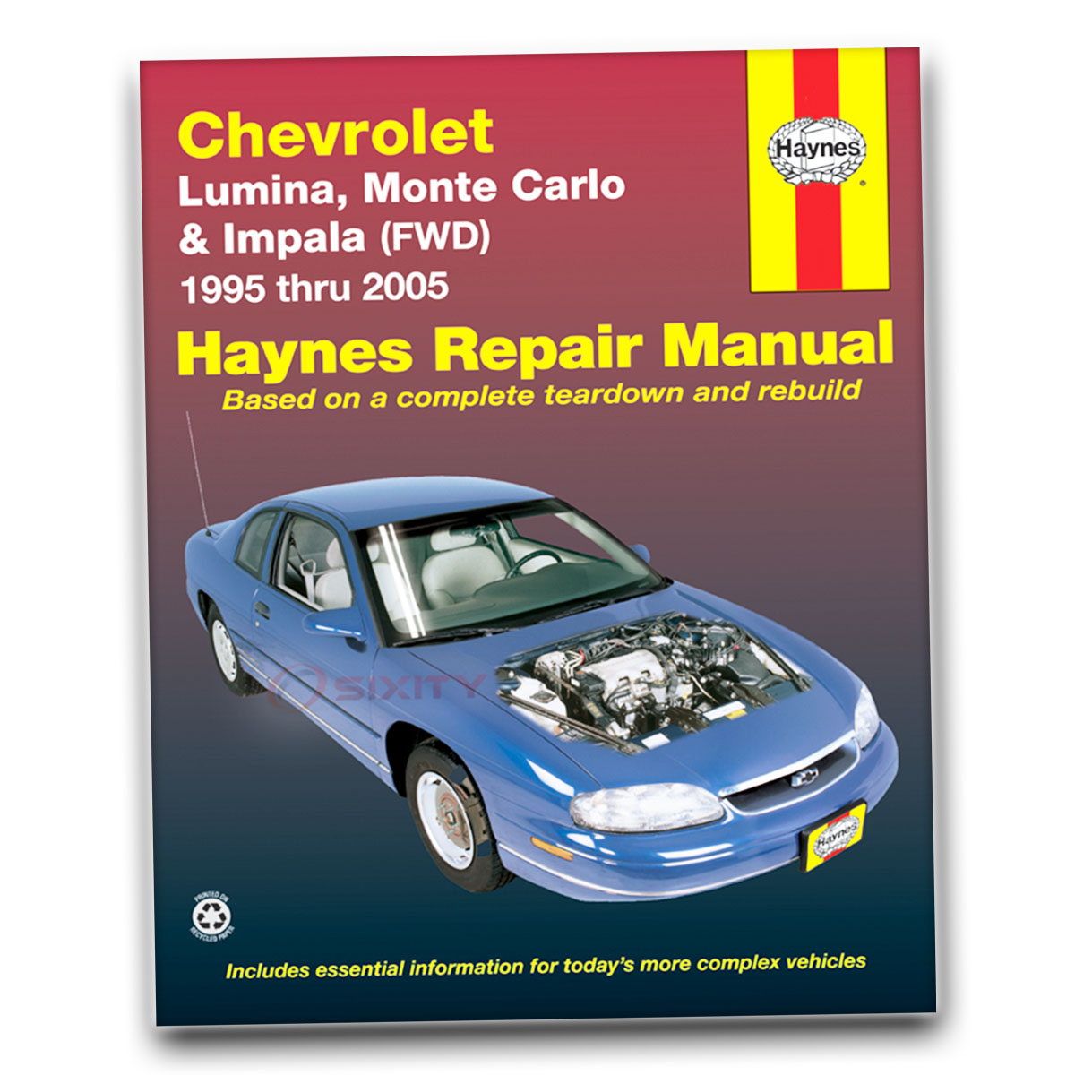 chevy lumina haynes repair manual ls base ltz shop service garage rh ebay com 2006 Chevy Impala Interior 2008 Chevy Lumina