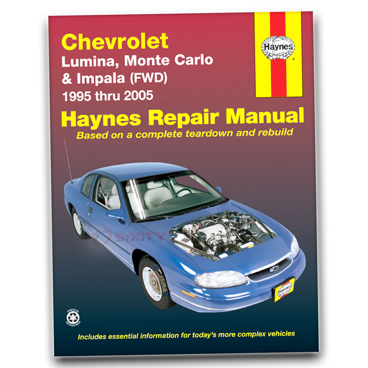 chevy monte carlo haynes repair manual indianapolis 500 pace car ss rh ebay com 2000 chevy impala repair manual free User Manual PDF