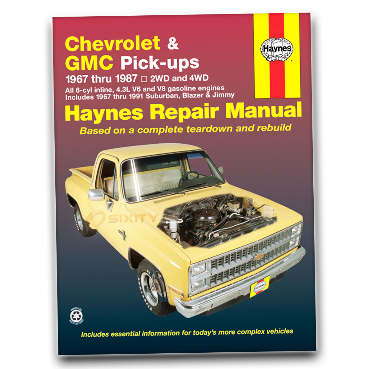 chevy c10 haynes repair manual big ten custom deluxe silverado rh ebay com 1973 Chevrolet Truck 1985 Chevrolet Truck