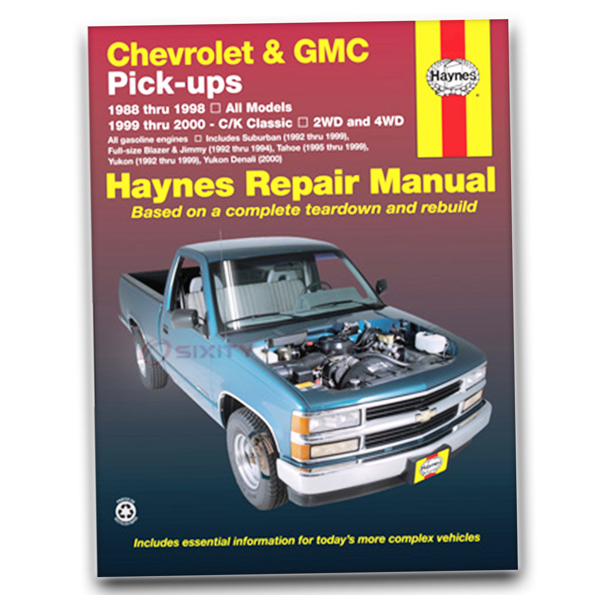 Image is loading Haynes-Repair-Manual-for-Chevy-K1500-Silverado-Sport-