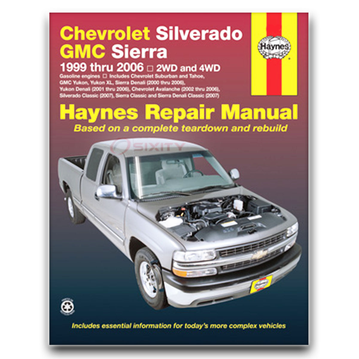 haynes repair manual for chevy suburban 1500 base ls z71 lt ltz shop rh  ebay com Scooter Repair Manual 2000 2002 Chevrolet Silverado