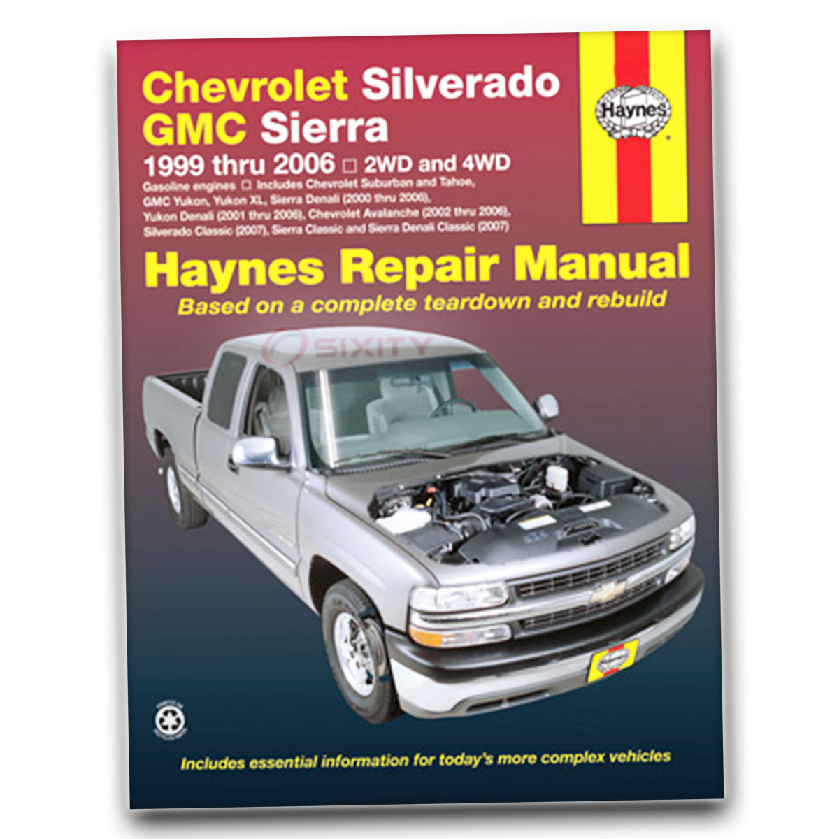 Haynes Repair Manual for Chevy Suburban 2500 LS Base LT Shop Service Garage  ld