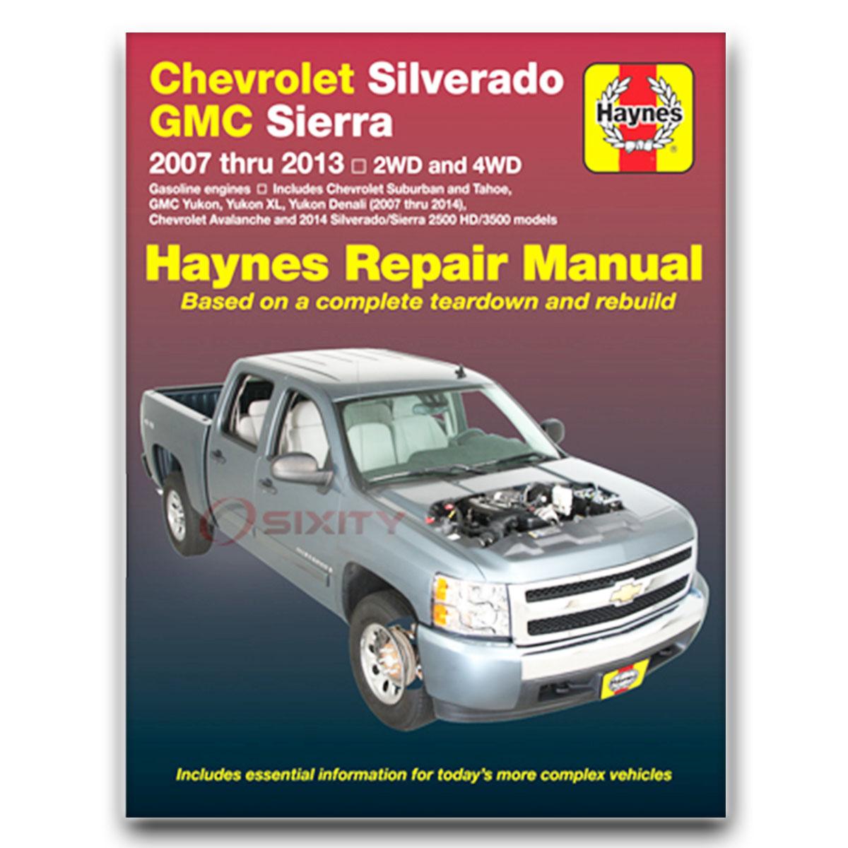 chevy silverado 3500 hd haynes repair manual wt lt ltz shop service rh ebay com GMC Sierra 3500 Chevy 3500HD MPG