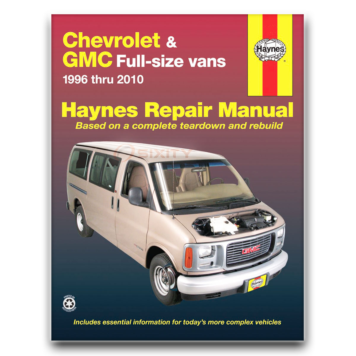Haynes Repair Manual for Chevy Express 1500 LT Base LS Shop Service Garage  hr