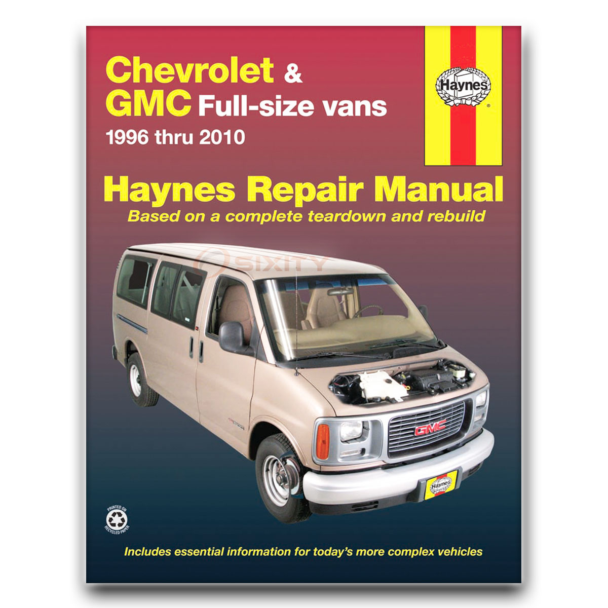 haynes repair manual for chevy express 3500 lt ls base shop service rh ebay  com chevy express 2500 repair manual free chevy express van owner's manual