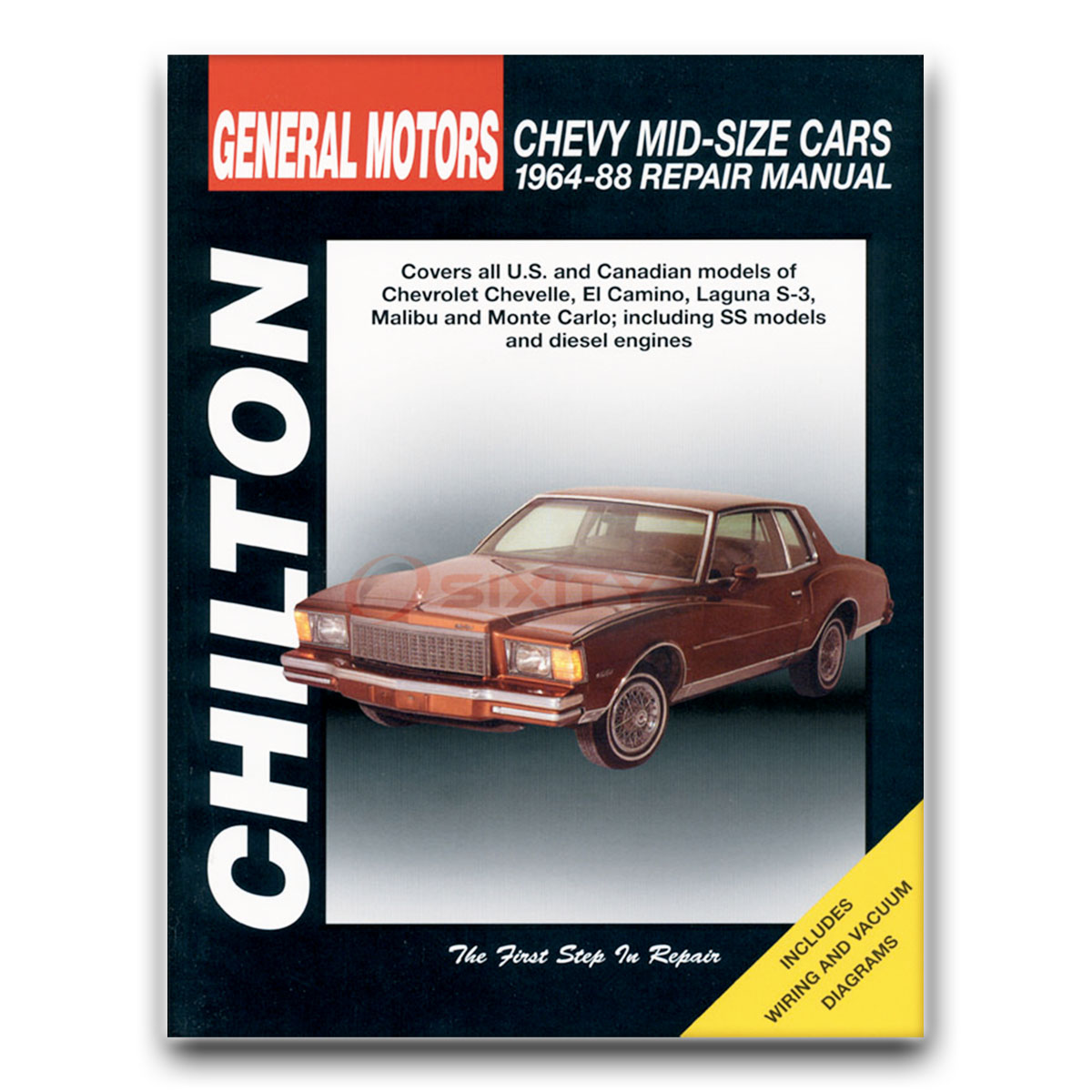 chilton repair manual for chevy monte carlo cl base s landau ls rh ebay com 88 Chevy Silverado 1500 88 Chevy Silverado Stepside