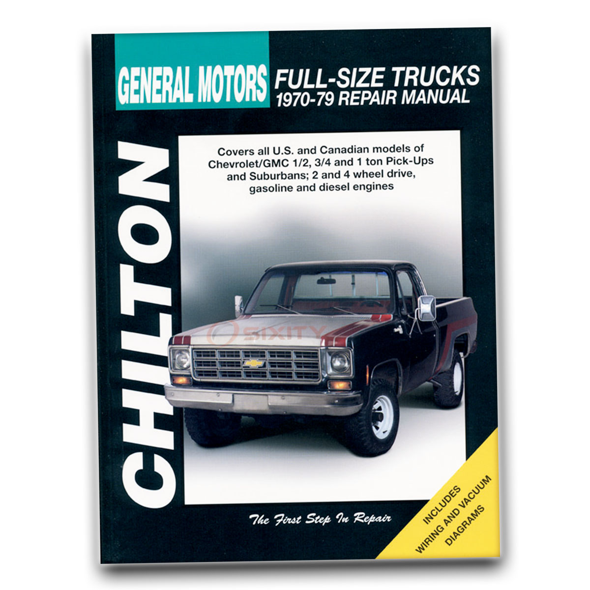Chilton Repair Manual for Chevy K10 Custom Deluxe Cheyenne Silverado ef