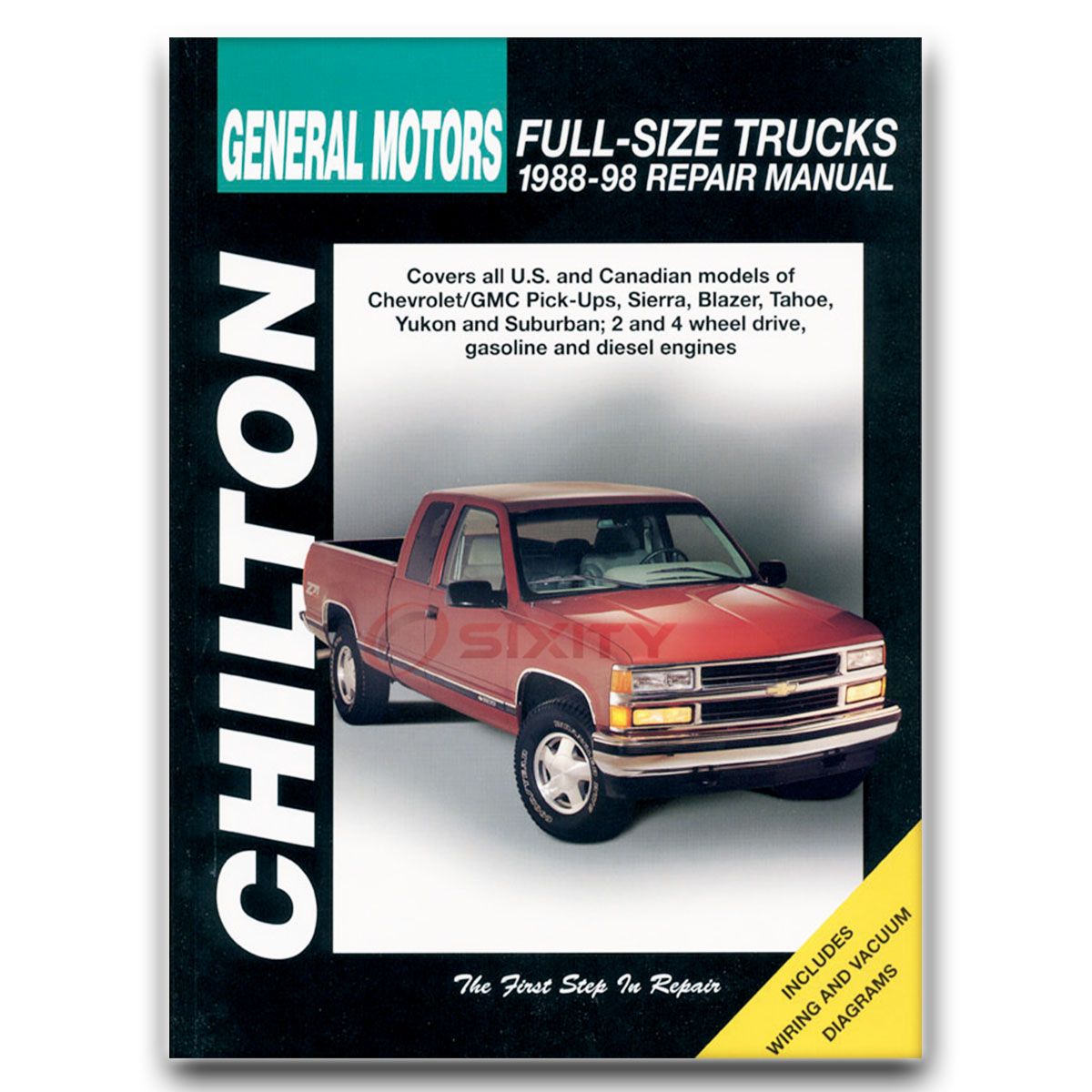 Chevy K2500 Suburban Chilton Repair Manual LS LT Base Silverado Shop Service  gw