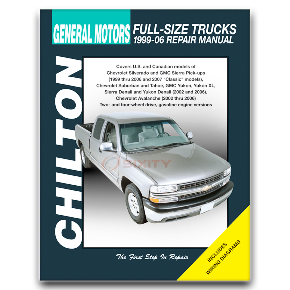 chevy silverado 1500 chilton repair manual ls classic z71 ss wt rh ebay com Ford Truck Chilton Repair Manual Heavy Truck Chilton Manuals