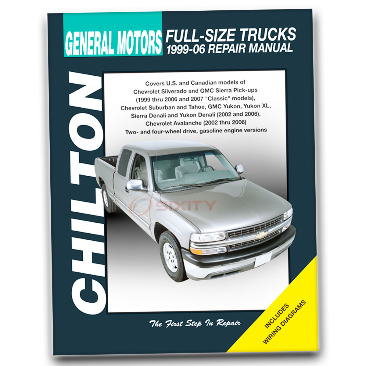 chevy tahoe chilton repair manual z71 ls lt base shop service garage rh ebay com 2006 chevy tahoe z71 owners manual 2007 Chevrolet Tahoe