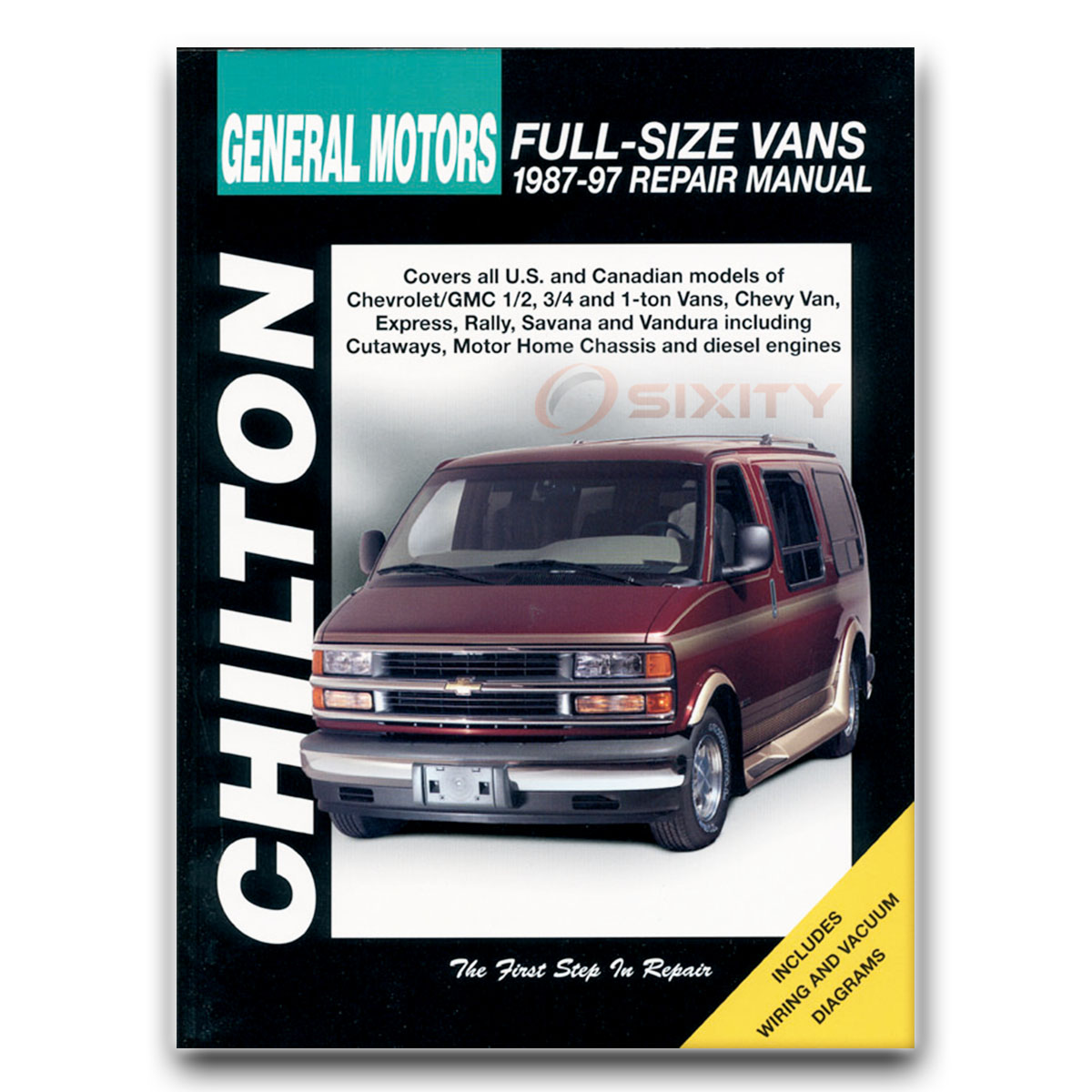 Chevy Express 1500 Chilton Repair Manual LS Base Shop Service Garage Book fz