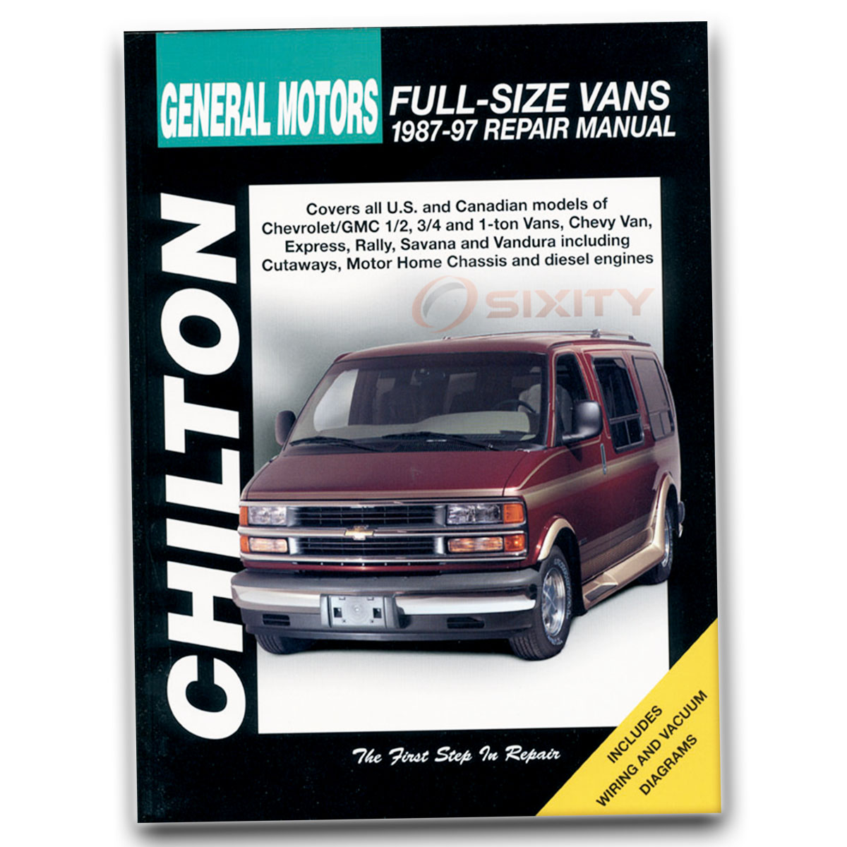 Chilton Repair Manual For 1987 1997 Chevrolet P30 Shop Service
