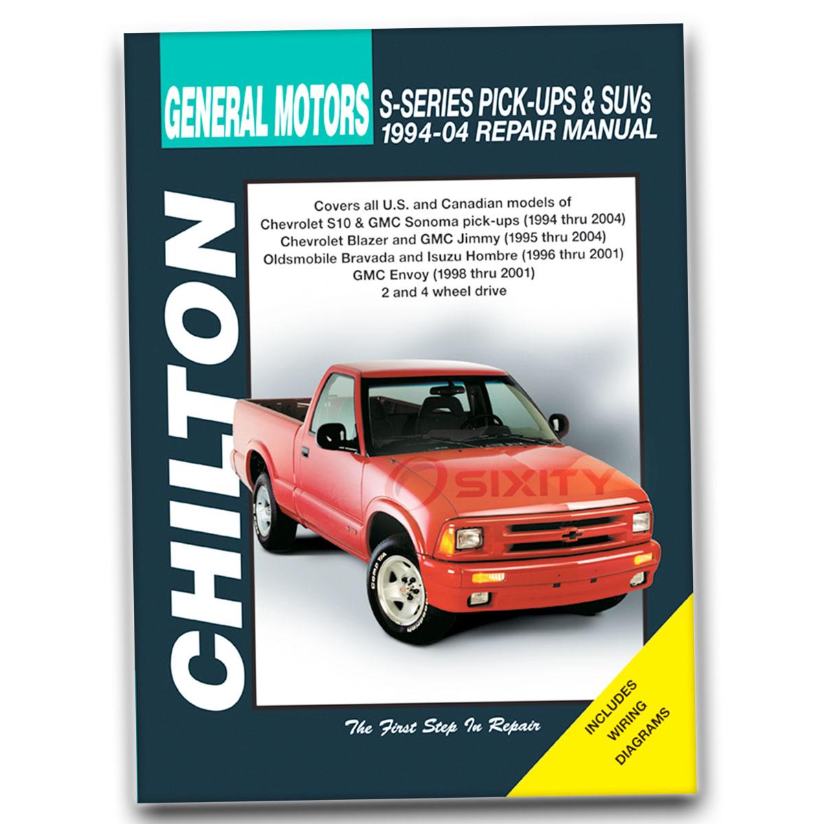 Chevy Blazer Chilton Repair Manual Base Trailblazer Xtreme border=