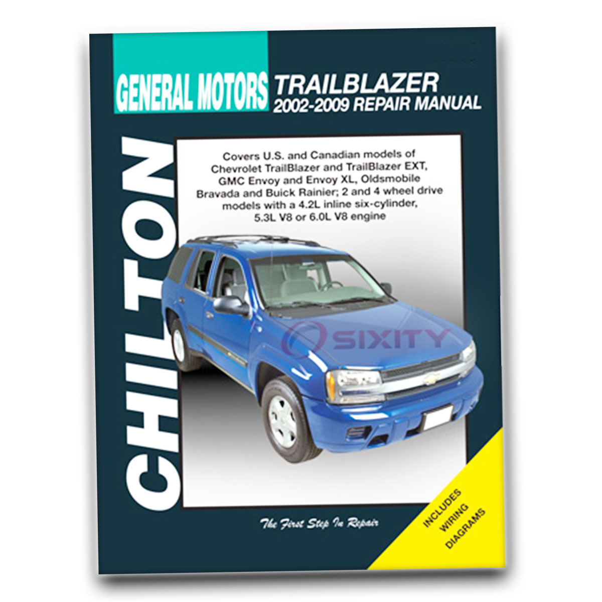 chevy trailblazer chilton repair manual ss ltz base north face ls rh ebay com 2007 Chevy Trailblazer Exterior Mirror 2007 chevrolet trailblazer ls owners manual