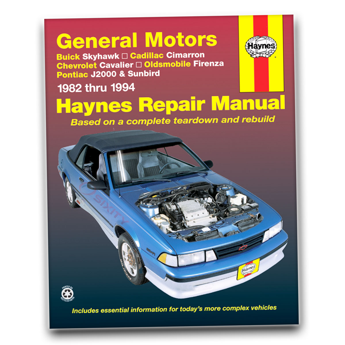 Haynes repair manual chevy cavalier & pontiac sunfire 1995 thru.