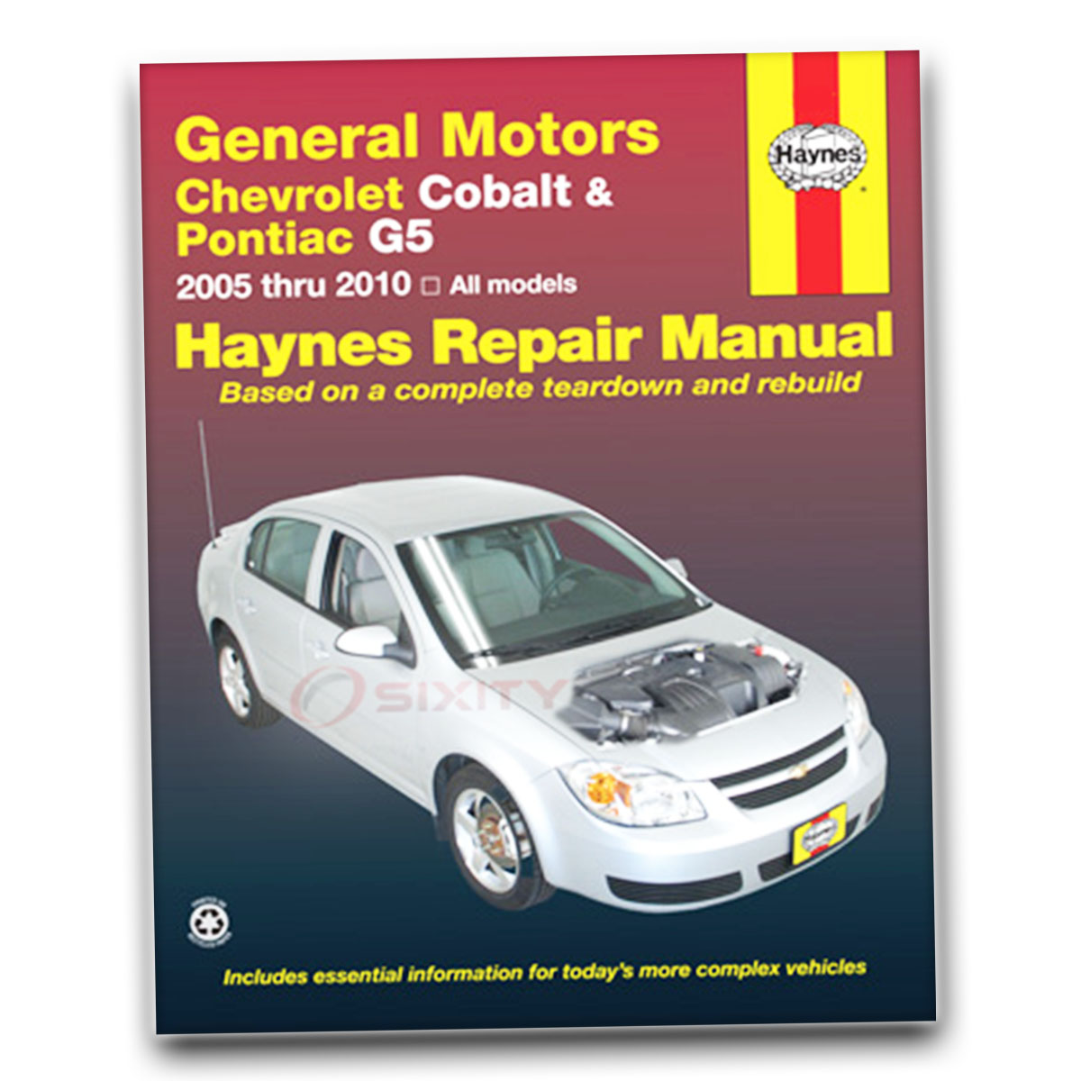 chevy cobalt haynes repair manual ss base ls lt sport ltz shop rh ebay com 2007 Chevrolet Cobalt Sedan 2007 Chevrolet Captiva Interior