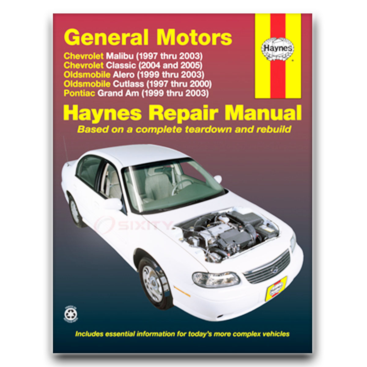 Haynes Repair Manual for Chevy Malibu LS Base Shop Service Garage Book xc