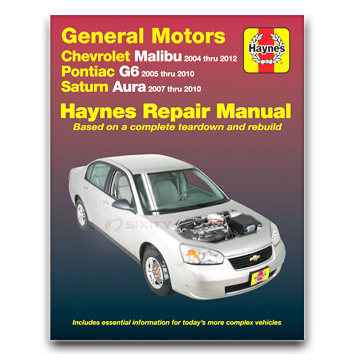 chevy malibu haynes repair manual maxx lt ss ls base ltz classic rh ebay com 2007 Chevrolet Cobalt Sedan 2007 Chevrolet Cobalt Sedan