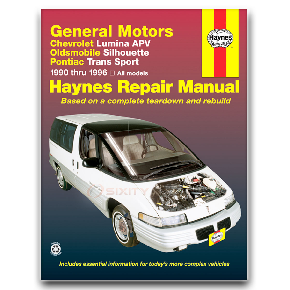 chevy lumina apv haynes repair manual ls base cl shop service garage rh ebay com 1996 chevy lumina repair manual free 1999 Chevy Lumina