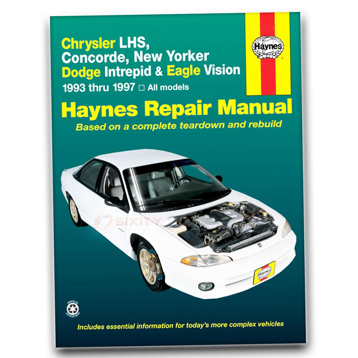 Chrysler New Yorker Haynes Repair Manual Base Salon Shop Service Garage  Book ag