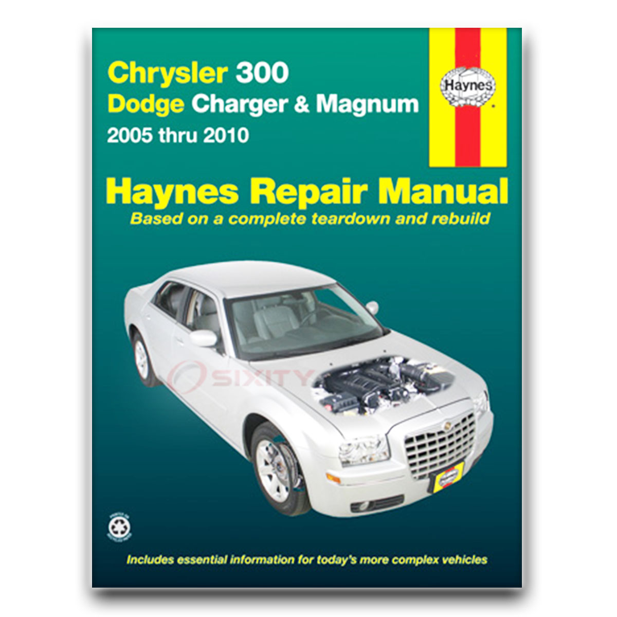 Haynes Repair Manual For Chrysler 300 C SRT8 Base Limited