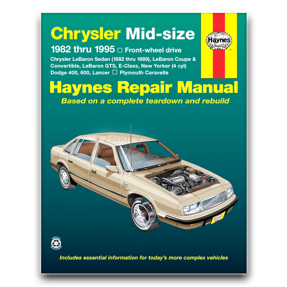 chrysler lebaron haynes manual reparacion lx linea alta le base rh ebay com 1994 chrysler lebaron owners manual 1990 Chrysler LeBaron