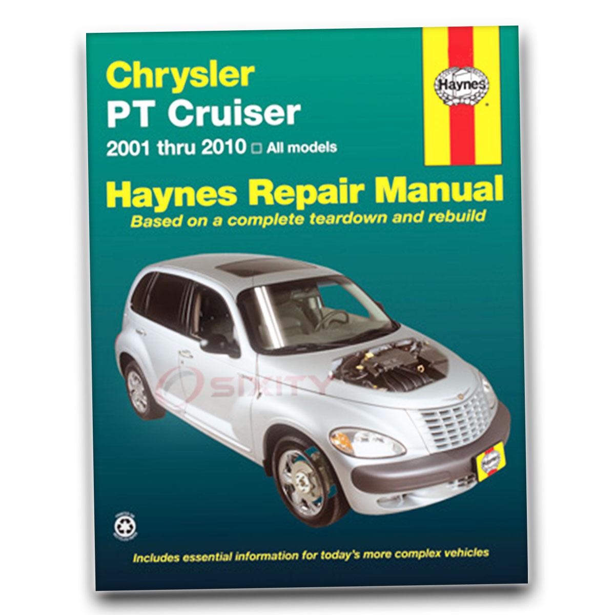 Haynes Repair Manual for Chrysler PT Cruiser Street Cruiser Dream Touring rr